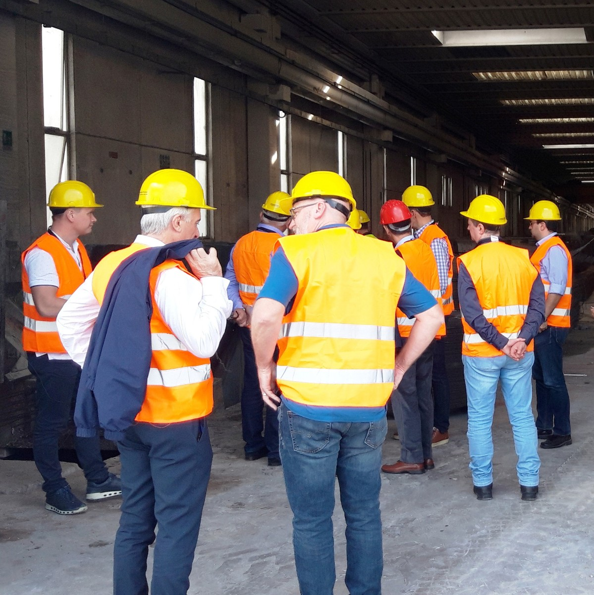 Meeting of construction companies
