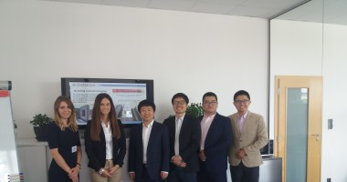 ENDURCRETE project presented to the China Academy of Building Research