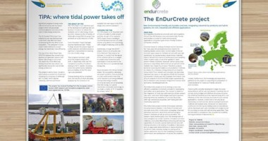 ENDURCRETE project in EEI Magazine