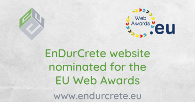 EnDurCrete nominated for the 2020 .eu Web Awards!