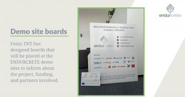 Demo site information boards!