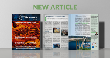 New Article   EU Research Magazine Summer 2021 edition!