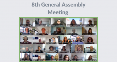 Meeting   The 8th General Assembly Meeting is done!